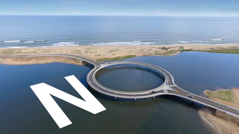 Illustration for article titled Uruguay Built This Dumb Bridge For Dumb Reasons