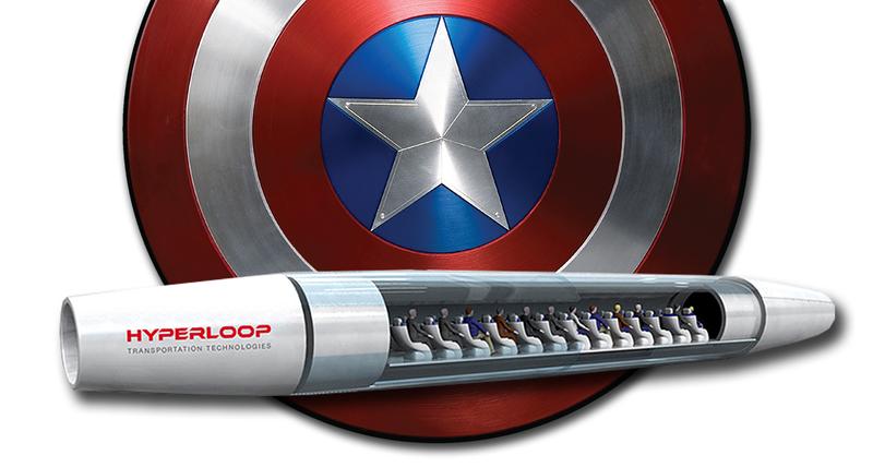 Illustration for article titled Hyperloop recubrirá sus cápsulas con Vibranium, pero no es el metal que piensas