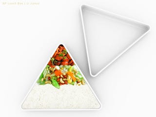 Illustration for article titled Food Pyramid Ensures You Your Veggies and Your Job