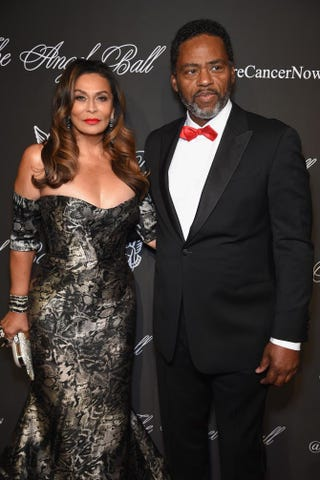Tina Knowles and Richard Lawson in 2014Dimitrios Kambouris/Getty Images for Gabrielle's Angel Foundation