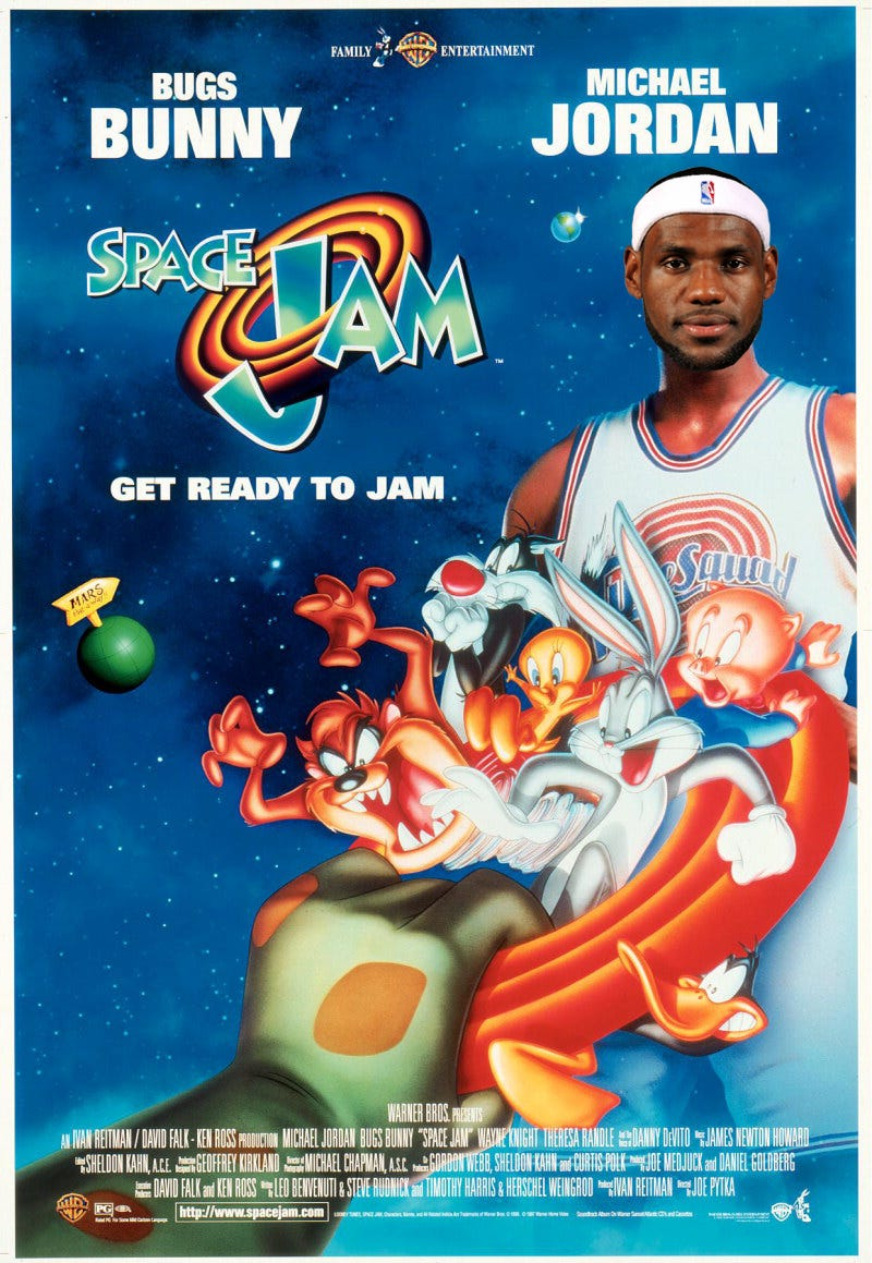 Illustration for article titled Report: Space Jam 2 Starring LeBron James Is In The Works