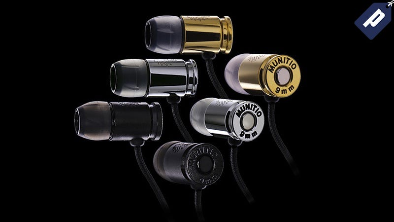 Illustration for article titled Last Chance: Save 80% On The Munitio NINES Tactical Earbuds