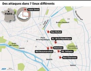 Illustration for article titled Terrortámadás történt Párizsban
