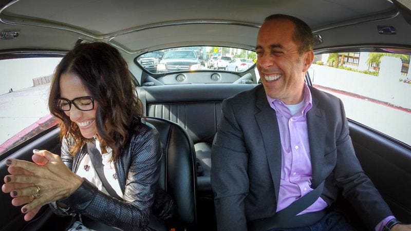 Julia Louis-Dreyfus and Jerry Seinfeld on Comedians In Cars Getting Coffee
