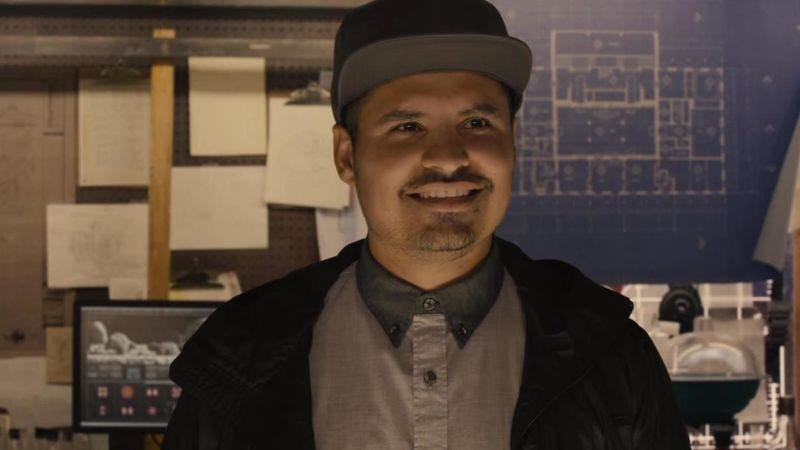Michael Peña as Luis in Ant-Man