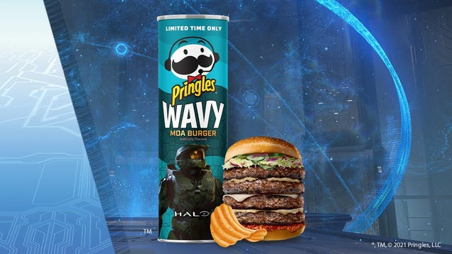 The Halo Pringles That Taste Like a Fictional Bird: A Review