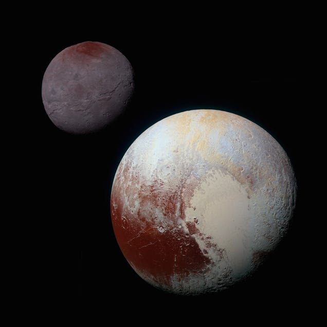 What Astronomers Thought Pluto Looked Like Before They Saw It Up Close