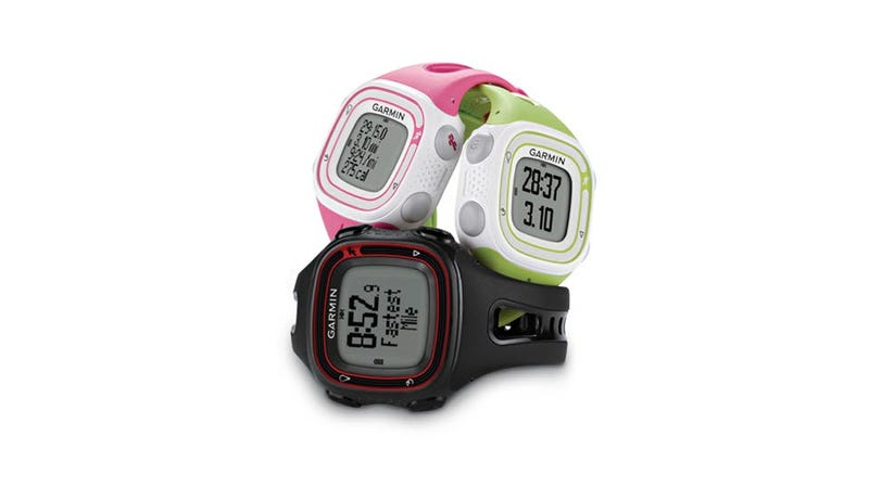 Illustration for article titled Garmin Forerunner 10: A Simple GPS Fitness Watch to Track Your Evening Jog