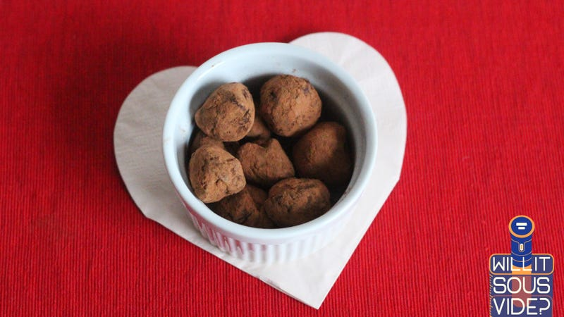Illustration for article titled Sous Vide Some Truffles for Your Valentine