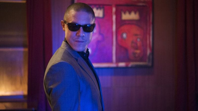 Theo Rossi as Shades on Marvel's Luke Cage