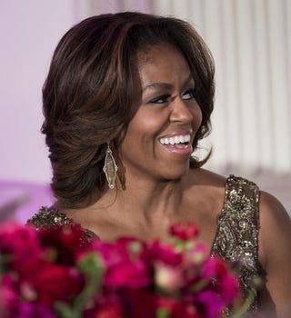 Michelle ObamaBRENDAN SMIALOWSKI/AFP/Getty Images