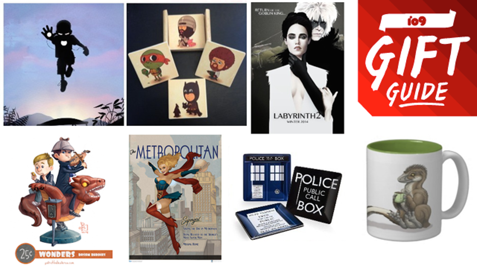 The best geeky art and home decor to buy this holiday season for Best place to buy art for home