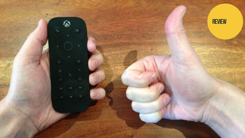 Illustration for article titled The Xbox One's Media Remote Is Surprisingly Great