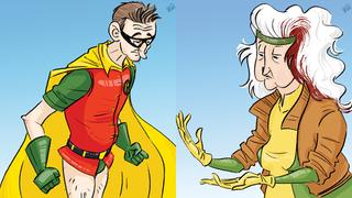 Illustration for article titled Even Superheroes Get Old