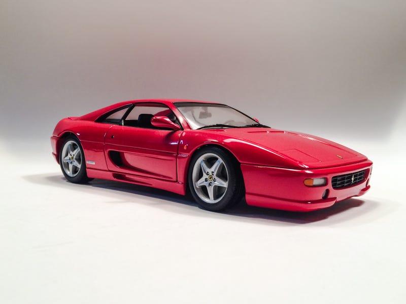 Illustration for article titled Ferrari F355 Berlinetta in 1/18 ScalebyUT Models