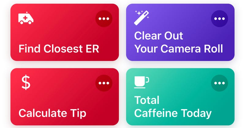Illustration for article titled Find and Get to the Nearest ER With This iOS Shortcut