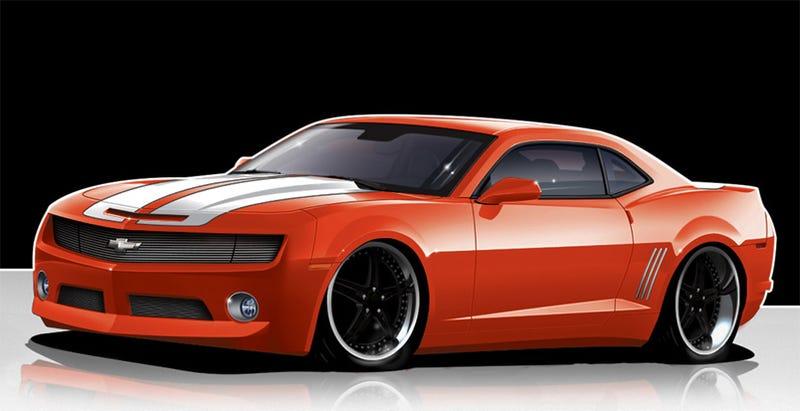 Illustration for article titled Fesler-Moss Builds A Corvette ZR1-Powered Camaro SS