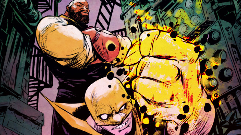 Illustration for article titled Luke Cage and Iron Fist Are Teaming Up Again for a Brand New Comic