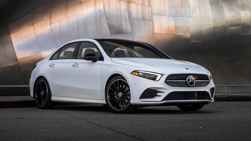 Illustration for article titled The 2019 A-Class Becomes America's Cheapest New Mercedes at $32,500