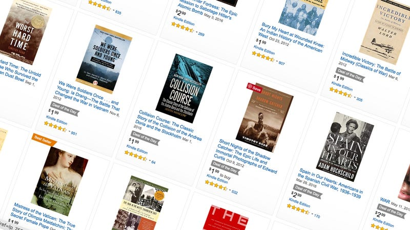 Kindle History Sale