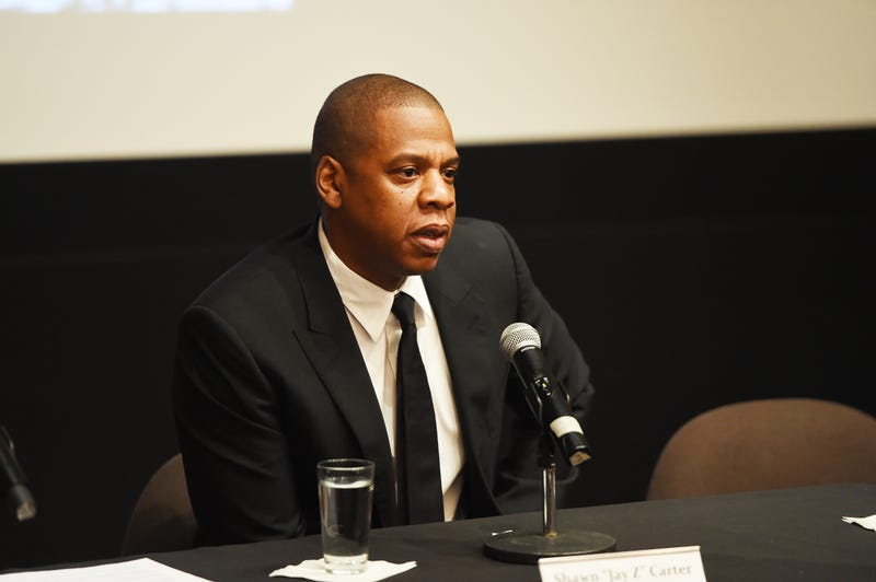 "Shawn ""Jay Z"" Carter participates in a panel during announcement of a documentary on the life of Kalief Browder on Oct. 6, 2016, in New York City.Larry Busacca/Getty Images for Spike"