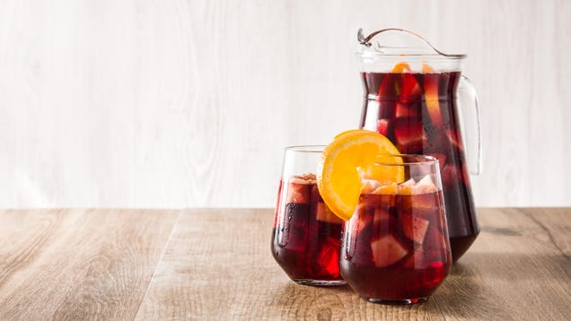 Just Use Frozen Fruit in Your Sangria