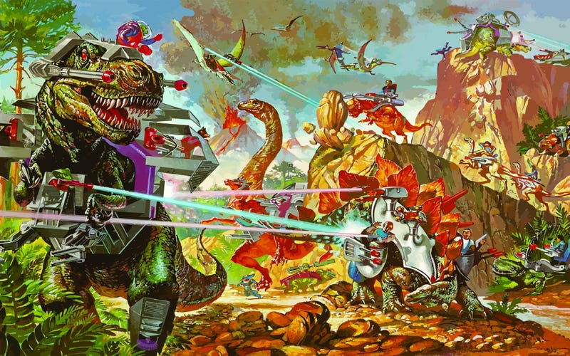 Illustration for article titled Why the World Needs Dino-Riders (Now with 100 Percent More Pics!)