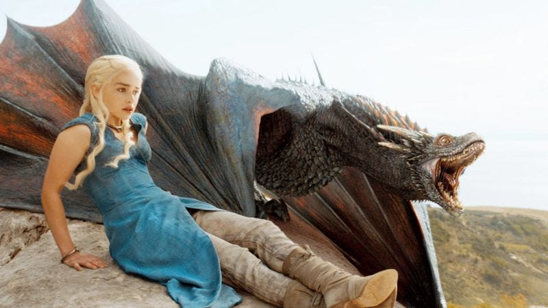 "Illustration for article titled Game Of Thrones' ""Khaleesi"" is now a more popular baby name than ""Betsy"""
