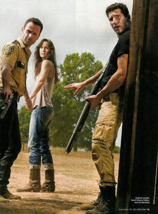 Illustration for article titled The Walking Dead Entertainment Weekly Scans