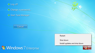 Illustration for article titled Trick Windows Into Shutting Down Without Installing Updates