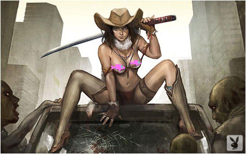 Bikini Samurai Nude 77