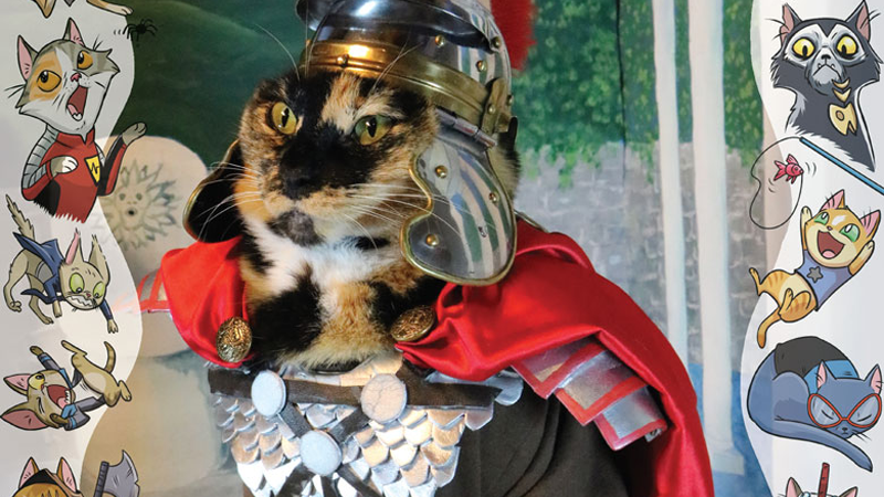 Illustration for article titled Valiant Comics Puts Cats in Cosplay, Creates the Greatest Variant Covers of All Time