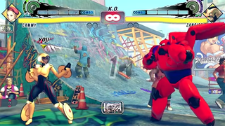 Illustration for article titled Someone PutBig Hero 6 Characters InStreet Fighter IV