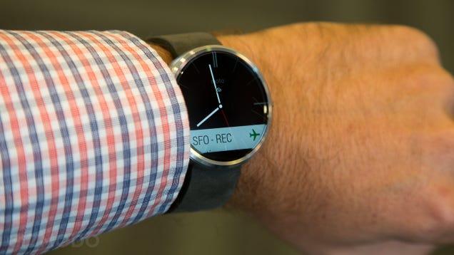 Moto 360, primeras impresiones: este smartwatch es alucinante