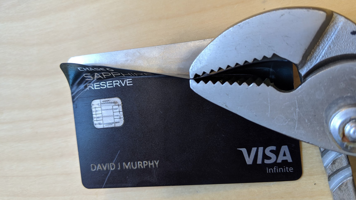 Murphy Visa Card >> How To Destroy A Metal Credit Card At Home