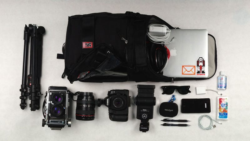 Illustration for article titled The Software Development and Camera Combo Bag