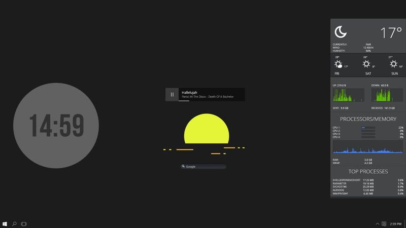 Illustration for article titled The Simple Sunrise Desktop