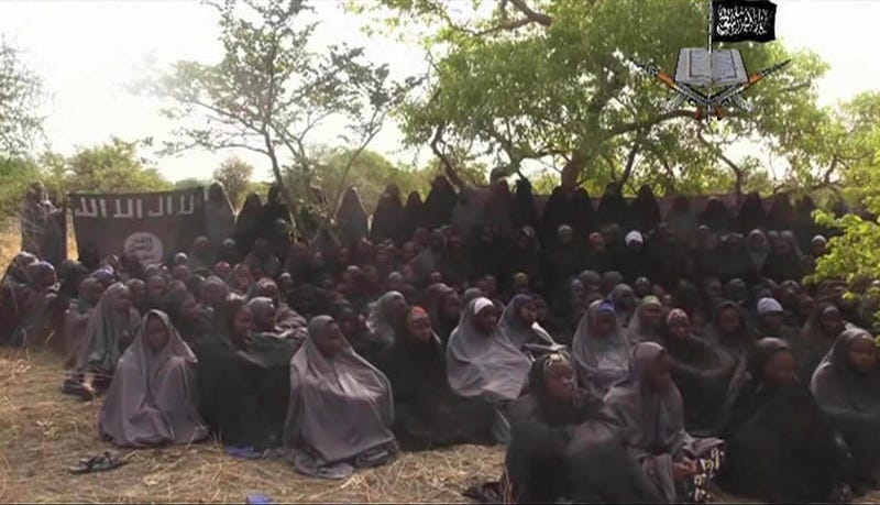 """Illustration for article titled Boko Haram Says They """"Married Off"""" the Kidnapped Schoolgirls"""