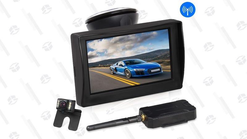 Auto-Vox Wireless Rear-View Camera Kit | $69 | Amazon | Promo code Y3XQSX2Y