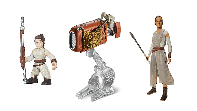 Illustration for article titled The Next Wave of Star WarsToys is All About Rey