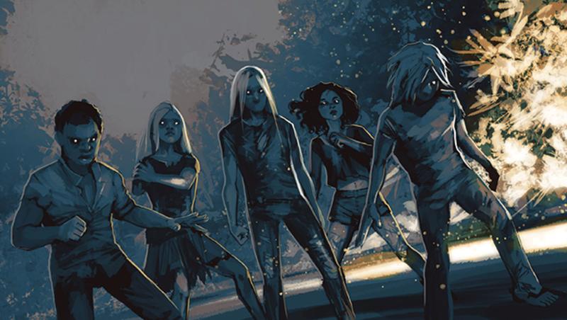 The mysterious heroes of Image's DIE.