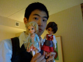 Illustration for article titled Why Is Klei's CEO Playing With Dolls?