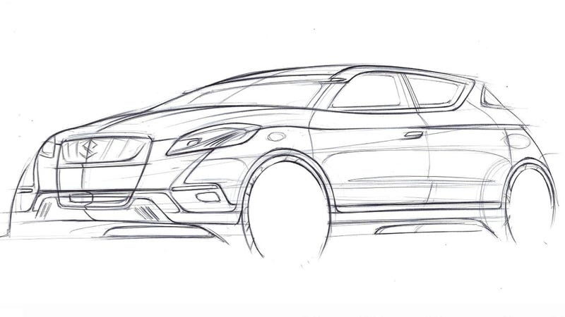 Illustration for article titled Hopefully, The Suzuki S-Cross Doesn't S-Uck