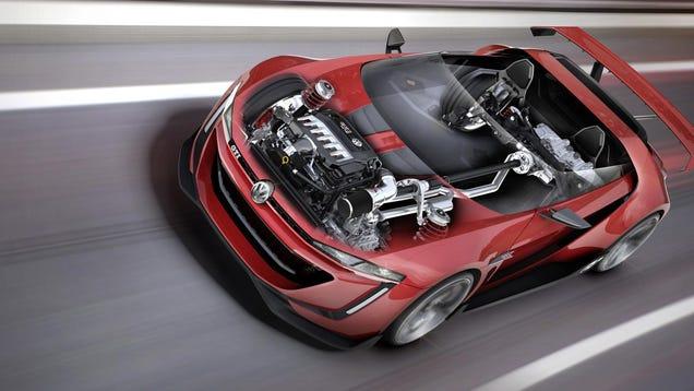 These Stunning Cutaways Take Us Inside VWs Virtual GTI Roadster