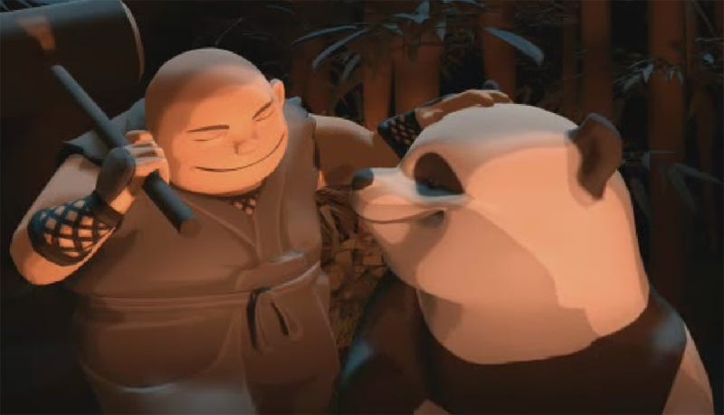 Illustration for article titled Mini Ninjas Make Happy Pandas