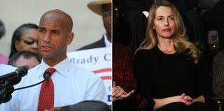 Adrian Fenty (Tim Sloan/AFP/Getty Images); Laurene Powell Jobs (Win McNamee/Getty Images)