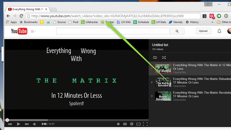Illustration for article titled Create a YouTube Playlist Without an Account With This URL Trick