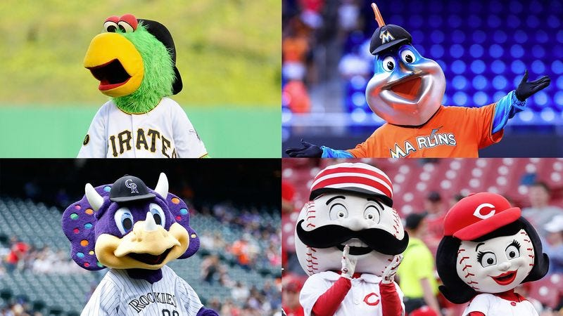 Illustration for article titled MLB Mascots Union Demands More Bald Fans To Playfully Tease Between Innings