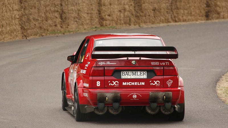 Illustration for article titled These Alfa Romeo Exhausts Are Straight Up Awesome