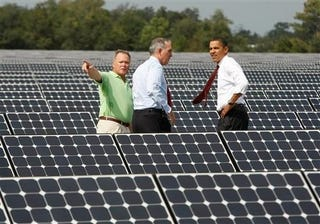 Illustration for article titled Obama at DeSoto Solar Plant Gallery
